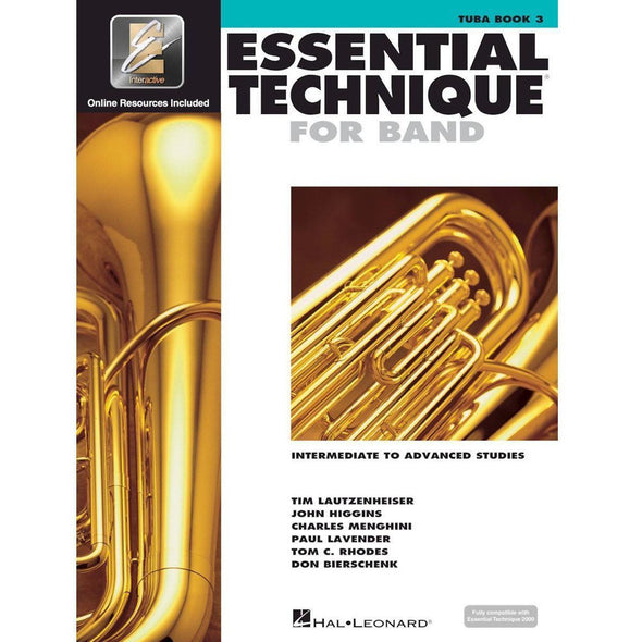 Essential Technique for Band Book 3-Tuba-Andy's Music