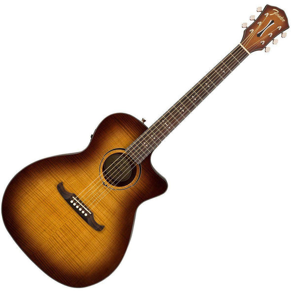 Fender FA-345CE Auditorium Cutaway Acoustic-Electric Guitar