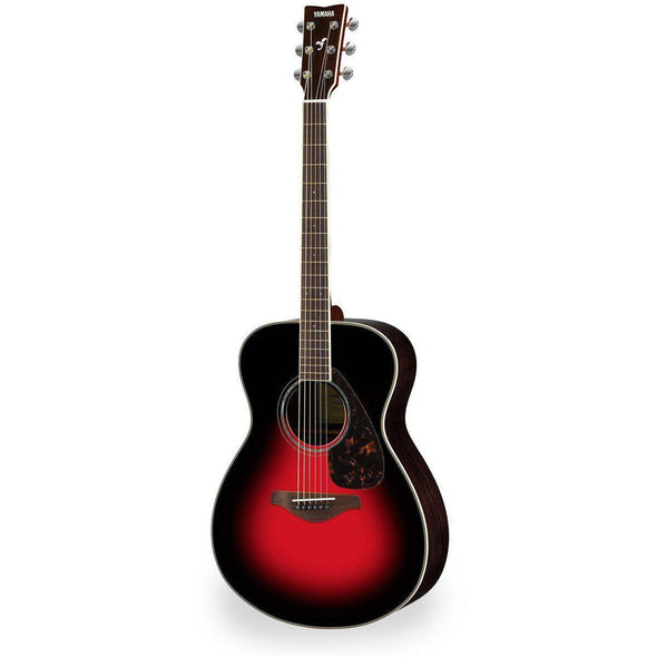 Yamaha FS830 Concert Acoustic Guitar-Dusk Sun Red-Andy's Music