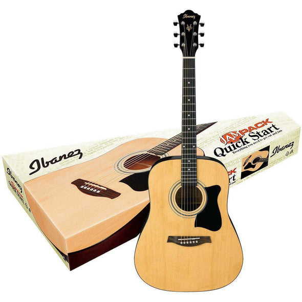 Ibanez IJV50 Acoustic Guitar Pack - Andy's Music