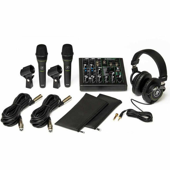 Mackie Performer Bundle With Mixer And Microphones-Andy's Music