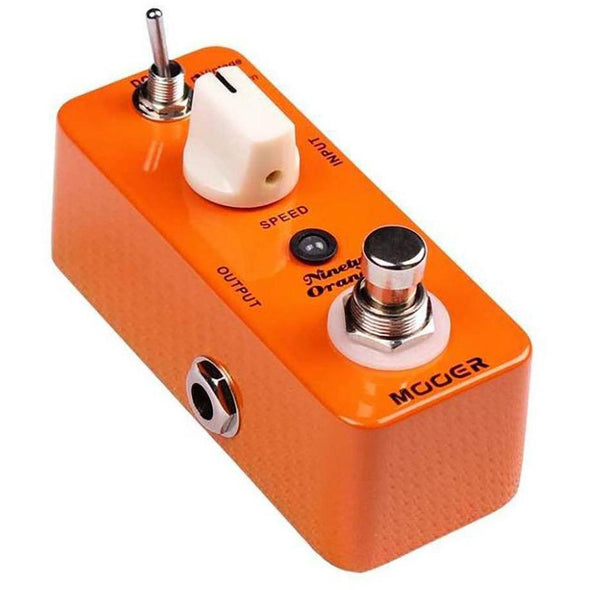 Mooer Ninety Orange Analog Phaser Guitar Effects Pedal-Andy's Music