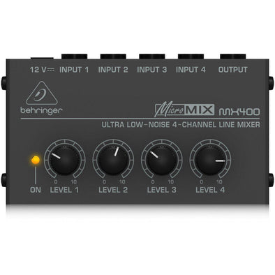 Behringer MX400 4-Channel Line Mixer - Andy's Music