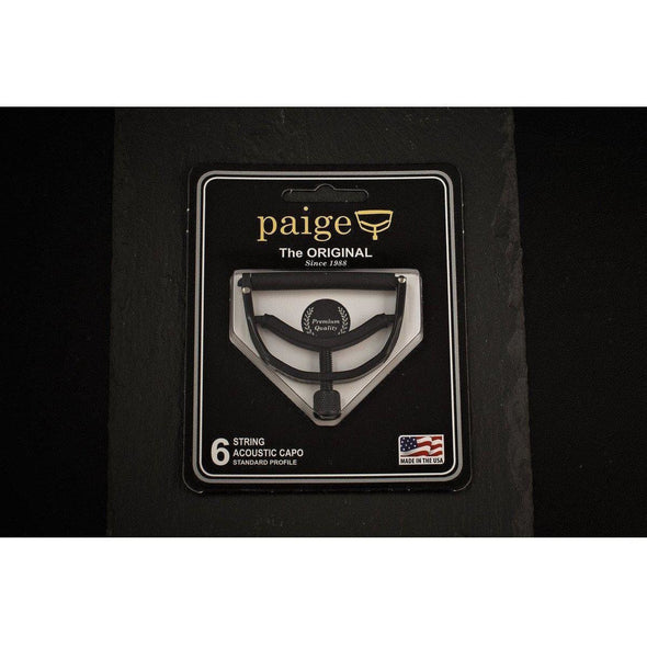 Paige Original 6 String Acoustic Guitar Capo P6E-Andy's Music