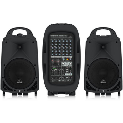 Behringer EUROPORT PPA2000BT 2000-Watt All-In-One Bluetooth Sound System - Andy's Music