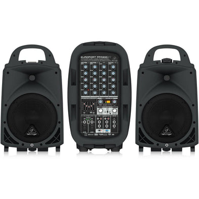 Behringer EUROPORT PPA500BT All-In-One Portable Bluetooth Sound System - Andy's Music