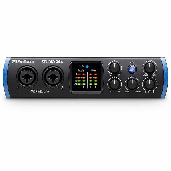 PreSonus Studio 24c USB-C Compatible Audio Interface