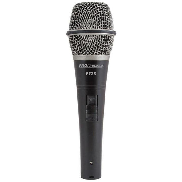PROformance P725 Supercardioid Dynamic Microphone-Andy's Music