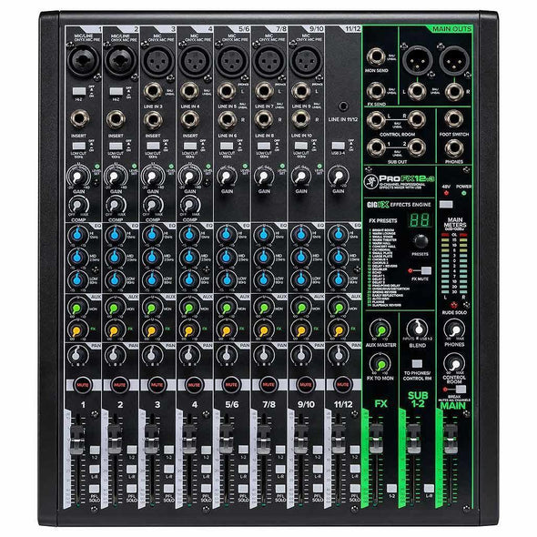Mackie ProFX12v3 12-Channel Effects Mixer With USB