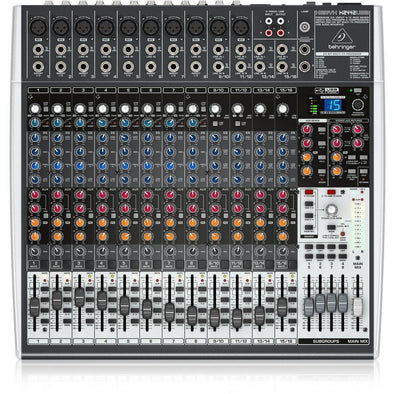 Behringer X2442USB 24-Input 4/2-Bus Mixer With USB/Audio Interface - Andy's Music