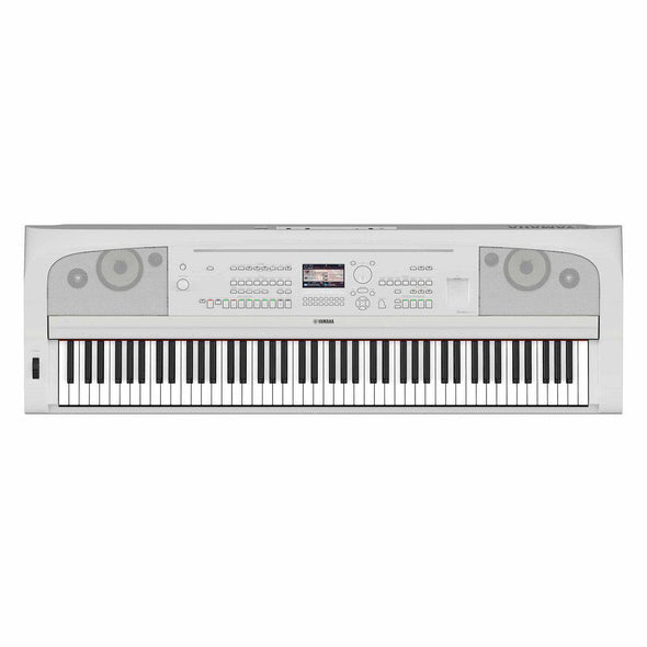 Yamaha DGX-670 Portable Grand Digital Piano-White-Without Stand & Pedals-Andy's Music