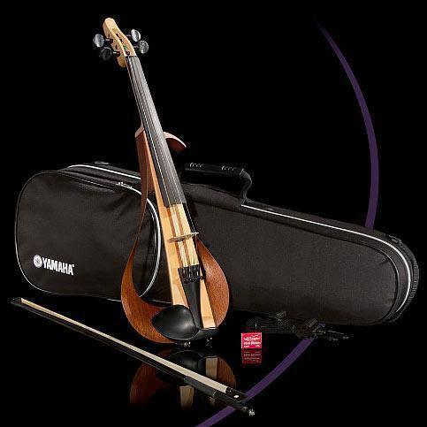 Yamaha YEV104 Electric Violin Outfit With Case & Bow-Andy's Music