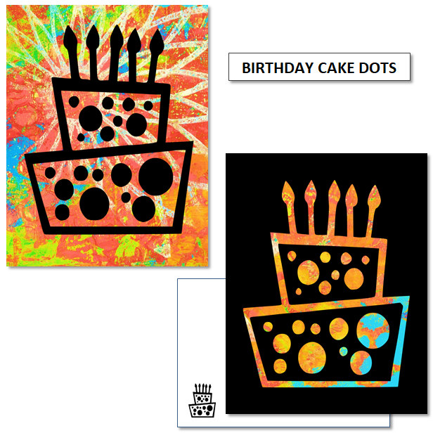 BIRTHDAY CAKE DOTS