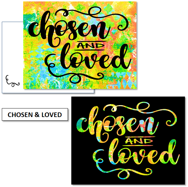 CHOSEN & LOVED - mix & match