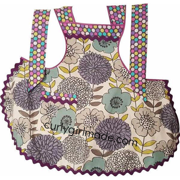 Courtney - Vintage Style Contemporary Print Apron