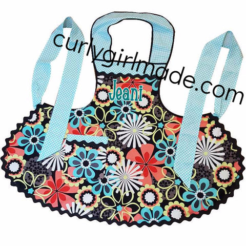 Jeani - Flower Splash Apron