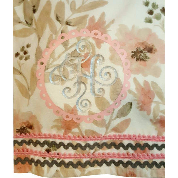 Henli - Rose Floral Hooded baby towel