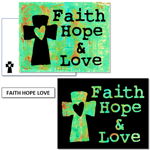 FAITH, HOPE, LOVE - mix & match