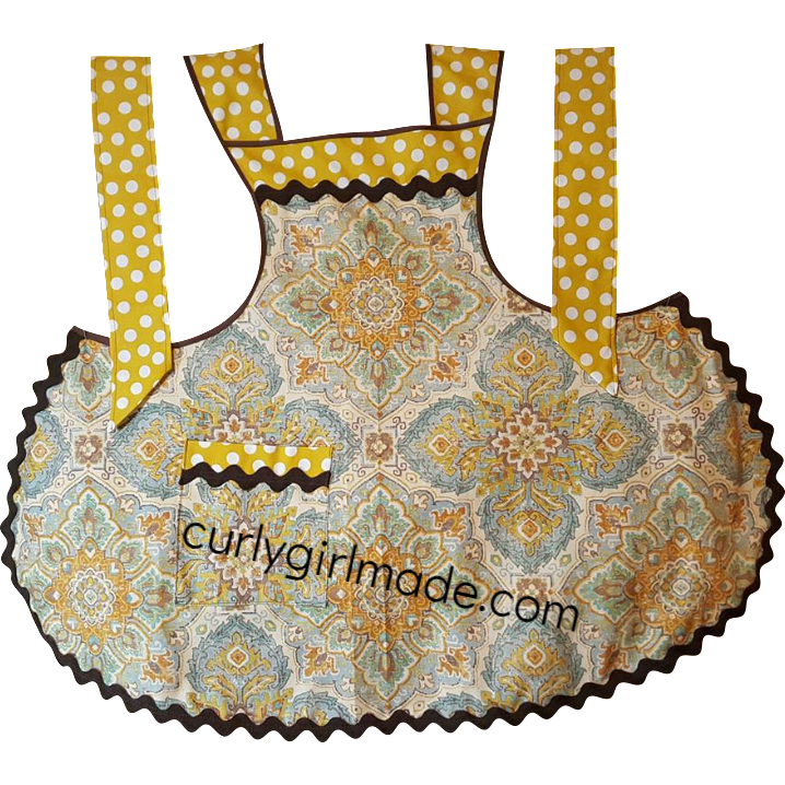 Joan - Vintage Tuscan Style Apron