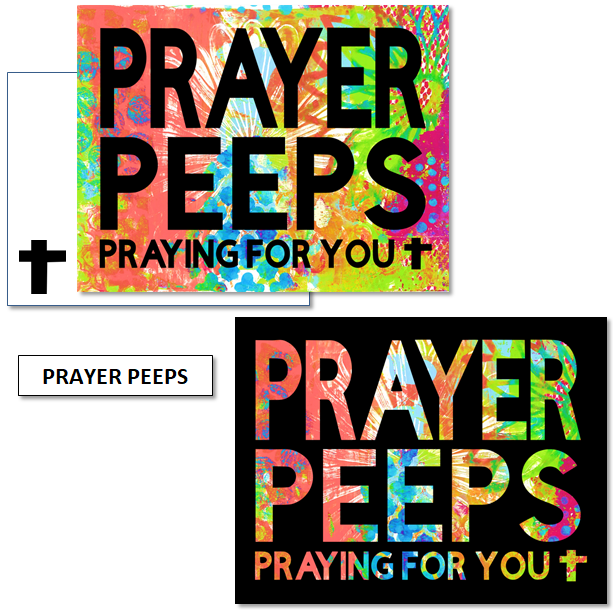 PRAYER PEEPS - mix & match