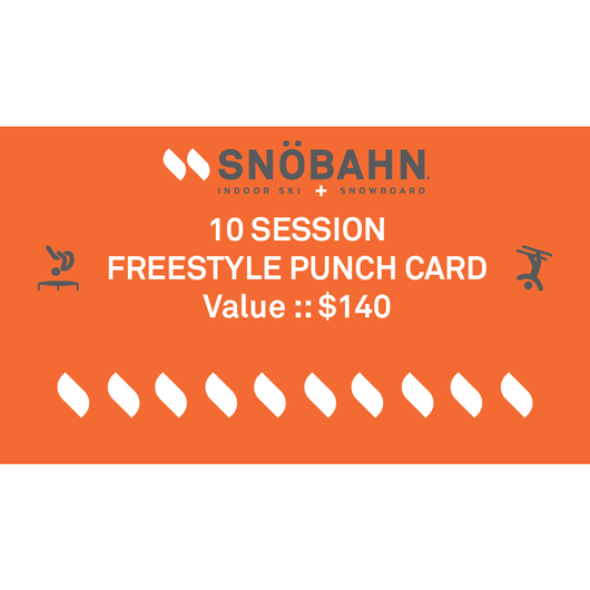 Freestyle Punch Card - 10 Pack