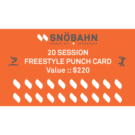Freestyle Punch Card - 20 Pack