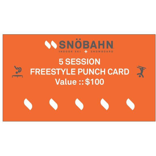 Freestyle Punch Card - 5 Pack