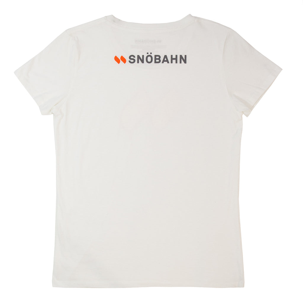 Snöbahn Mark Women's Fitted T-Shirt
