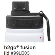 h2go Fusion Water Bottle Lid
