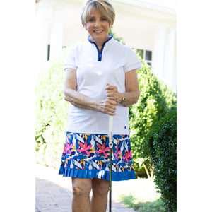 On The Fringe Skort- Wedged Wildflowers