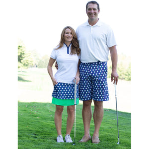 Men's Short Game Golf Shorts- Lots of Balls