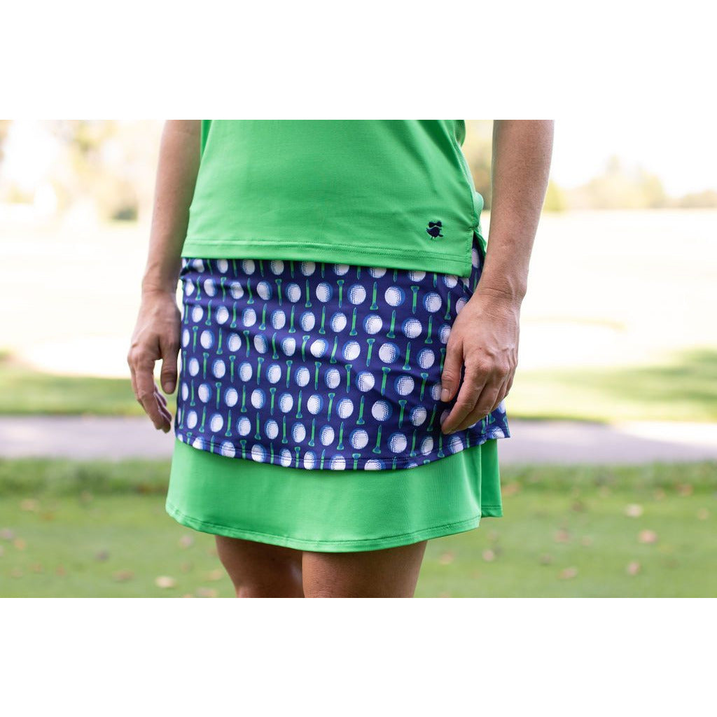Lay Up Layer Skort-Lots of Balls