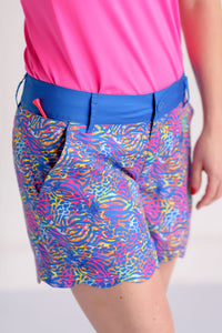 Swinging Scallop Golf Shorts- Resort 2019