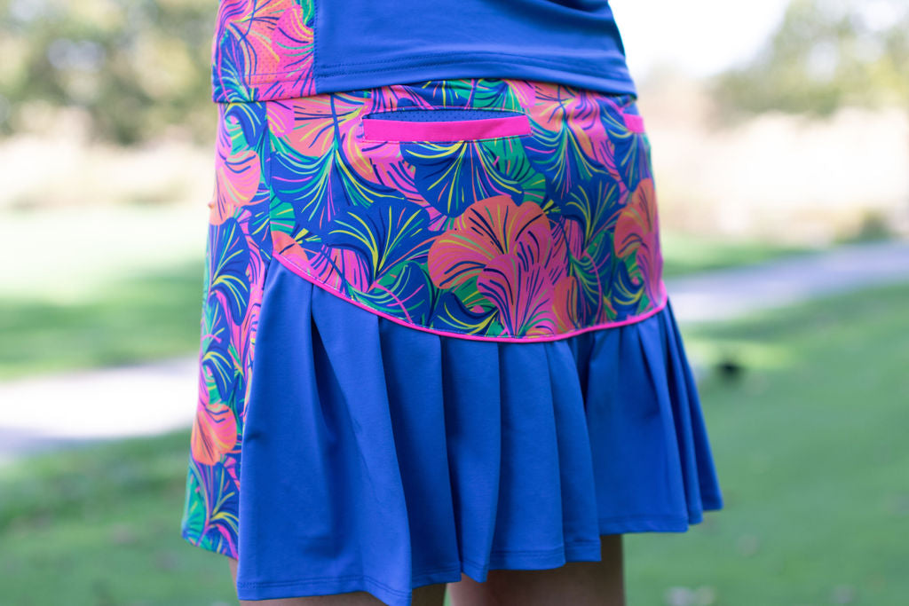 Around Course Accordion Skort- Cluster Caddy