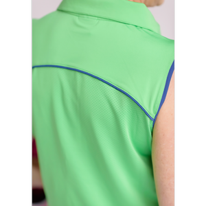 Match Play Sleeveless Polo- Resort 2019