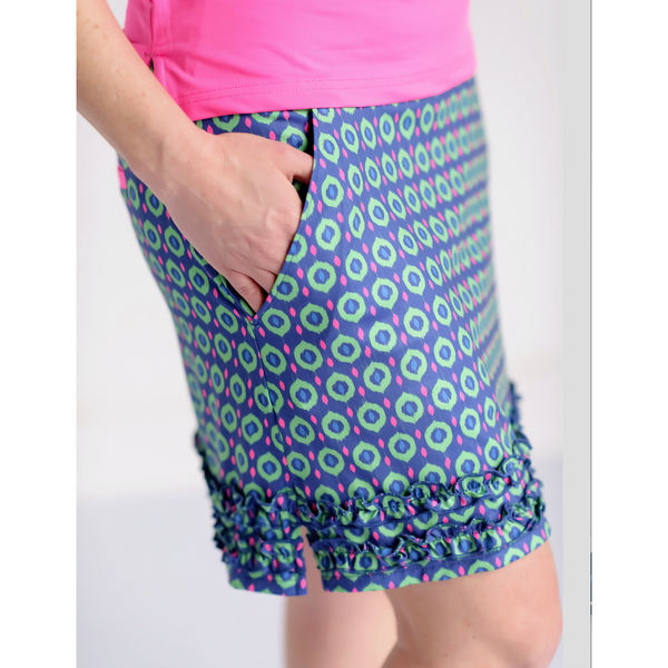 Round of Ruffles Skort- Color Pop-NOW AVAILABLE!
