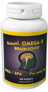 Omega 3 Brain Food - Supplement