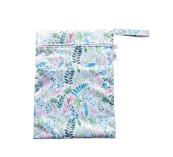 Green Foliage Large Wet Bag