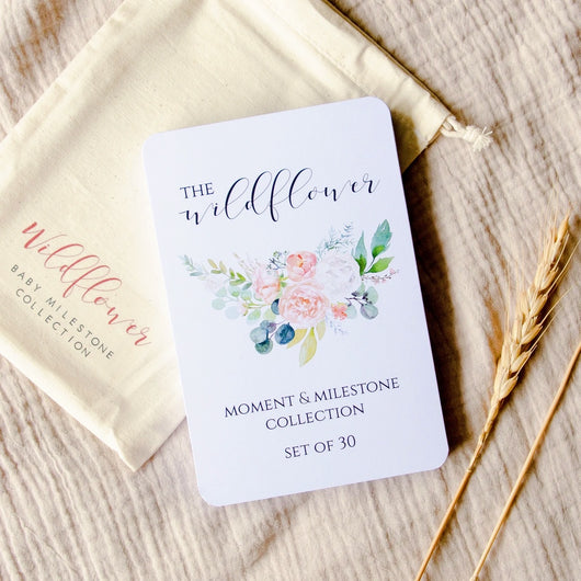 Wildflower Collection Milestone Cards