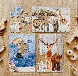 The Majestic Wild Puzzle Collection of 3