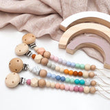 Earth Ombre Silicone Dummy Clip