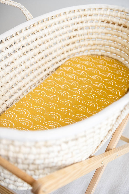 Sunset Moses Basket Fitted Sheet