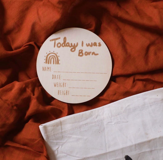 'Today I Was Born' Milestone Disc