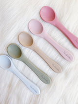 Dusty Sage Silicone Spoon