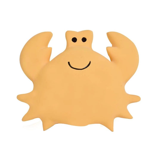 Crab Ocean Buddy Natural Rubber Bath Toy & Teether