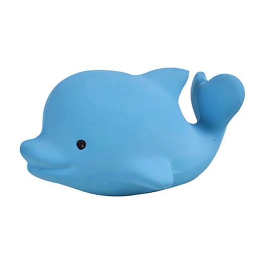 Dolphin Ocean Buddy Natural Rubber Bath Toy & Teether
