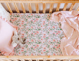 Wattle Fitted Cot Sheet