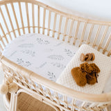 Wild Fern Change Pad Cover & Bassinet Sheet
