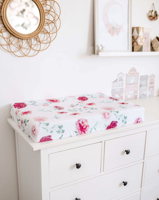 Wanderlust Change Pad Cover & Bassinet Sheet