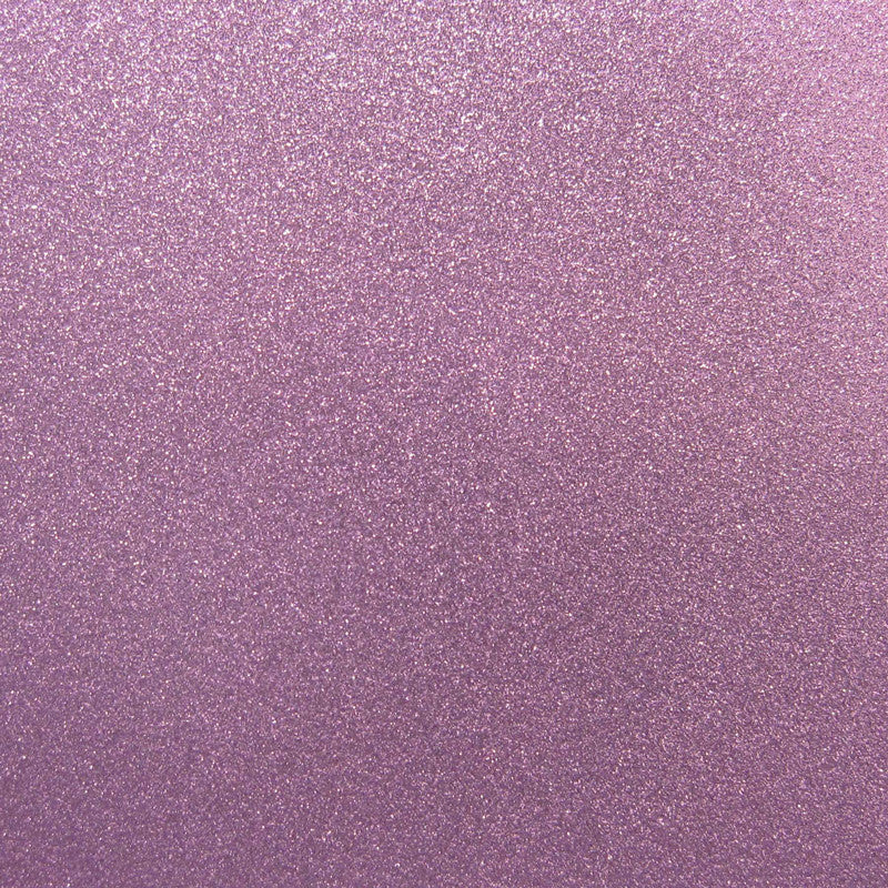 "Light Purple Glitter Card Stock 81#, 12"" x 12"" - Paperandmore.com"